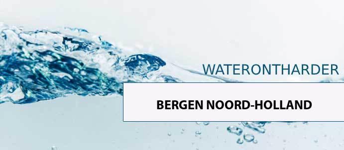 waterontharder-bergen-noord-holland-1931